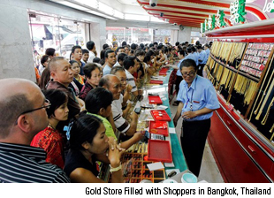 Gold Store Shoppers Thailand