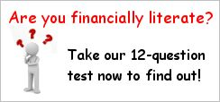 Are you financially literate? Click here to find out.