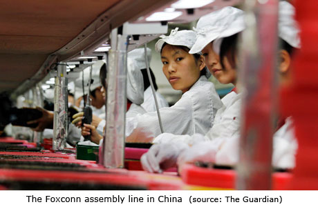Foxconn Assemby line China